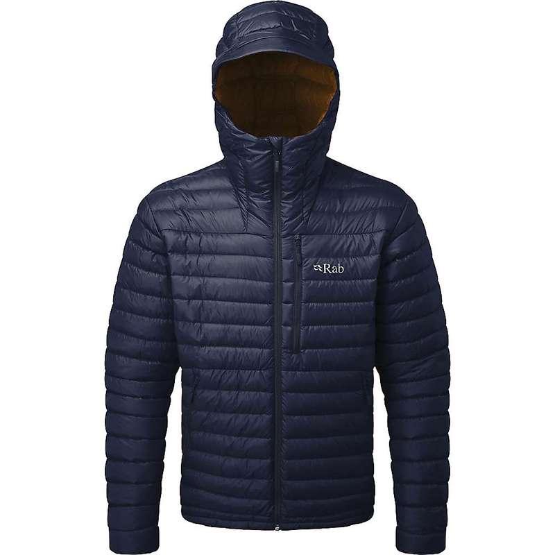 ラブ メンズ ジャケット・ブルゾン アウター Rab Men's Microlight Alpine Jacket Deep Ink / Footprint