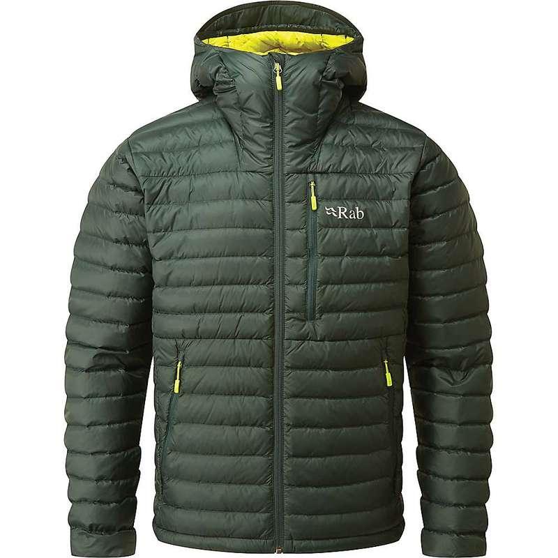 ラブ メンズ ジャケット・ブルゾン アウター Rab Men's Microlight Alpine Jacket Pine