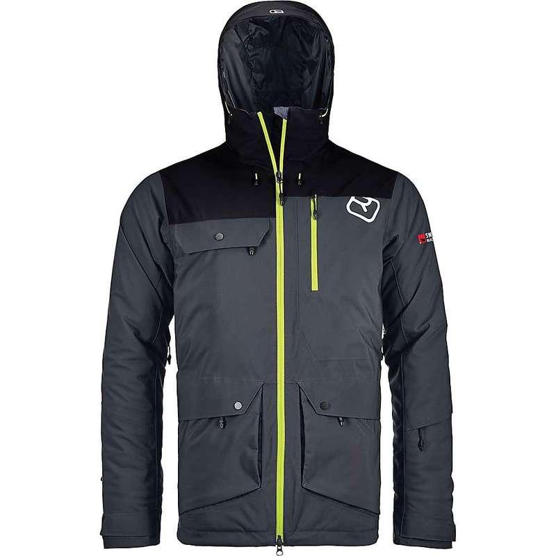 オルトボックス メンズ ジャケット・ブルゾン アウター Ortovox Men's 2L Swisswool Andermatt Jacket Black Steel