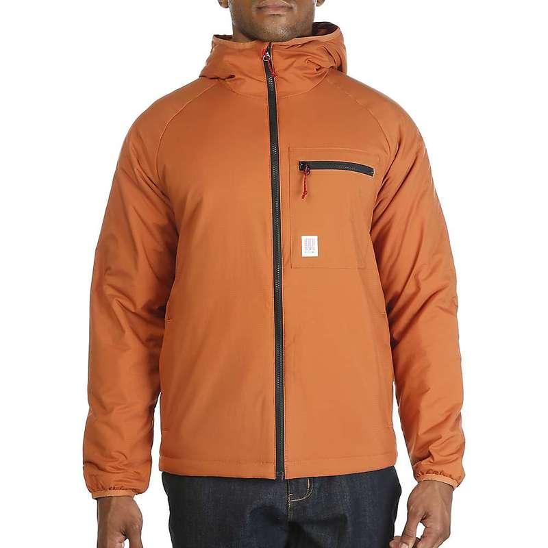 トポ・デザイン メンズ ジャケット・ブルゾン アウター Topo Designs Men's Puffer Hoodie Jacket Clay