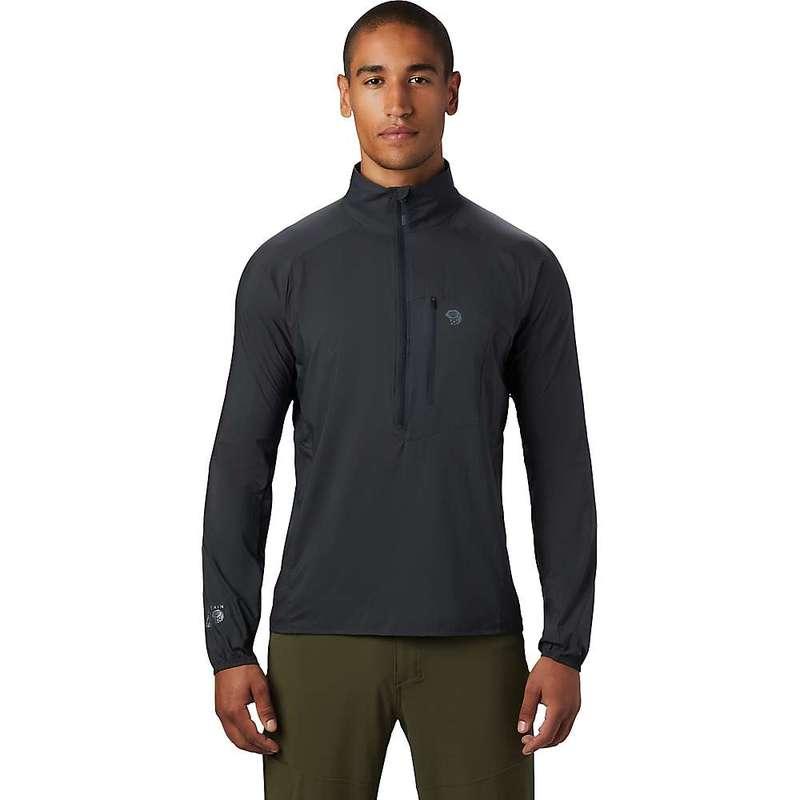 マウンテンハードウェア メンズ ジャケット・ブルゾン アウター Mountain Hardwear Men's Kor Preshell Pullover Dark Storm