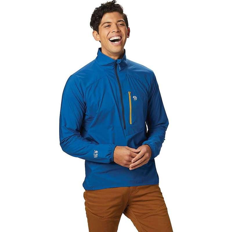 マウンテンハードウェア メンズ ジャケット・ブルゾン アウター Mountain Hardwear Men's Kor Preshell Pullover Nightfall Blue