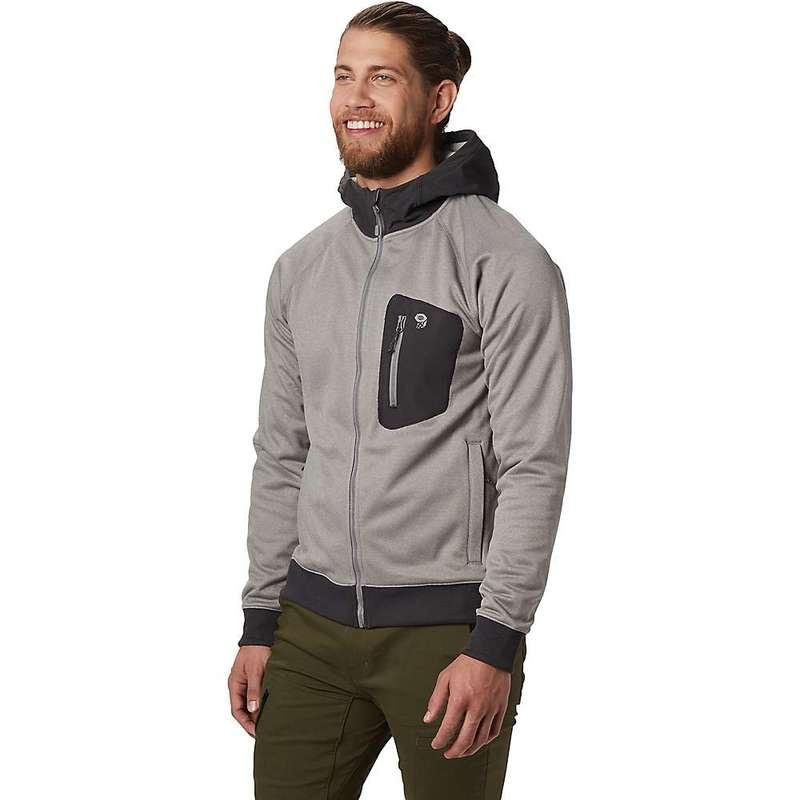 マウンテンハードウェア メンズ ジャケット・ブルゾン アウター Mountain Hardwear Men's Norse Peak Full Zip Hoody Manta Grey