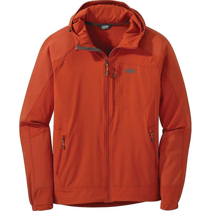 アウトドアリサーチ メンズ ジャケット・ブルゾン アウター Outdoor Research Men's Ferrosi Hooded Jacket Burnt Orange