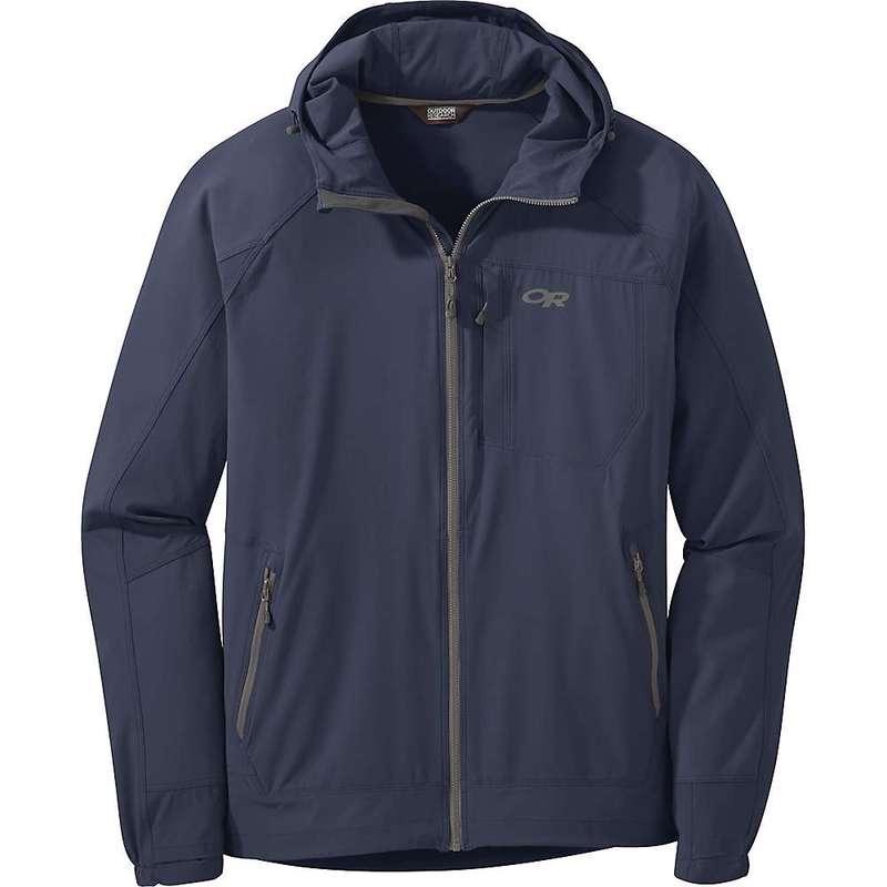 アウトドアリサーチ メンズ ジャケット・ブルゾン アウター Outdoor Research Men's Ferrosi Hooded Jacket Naval Blue