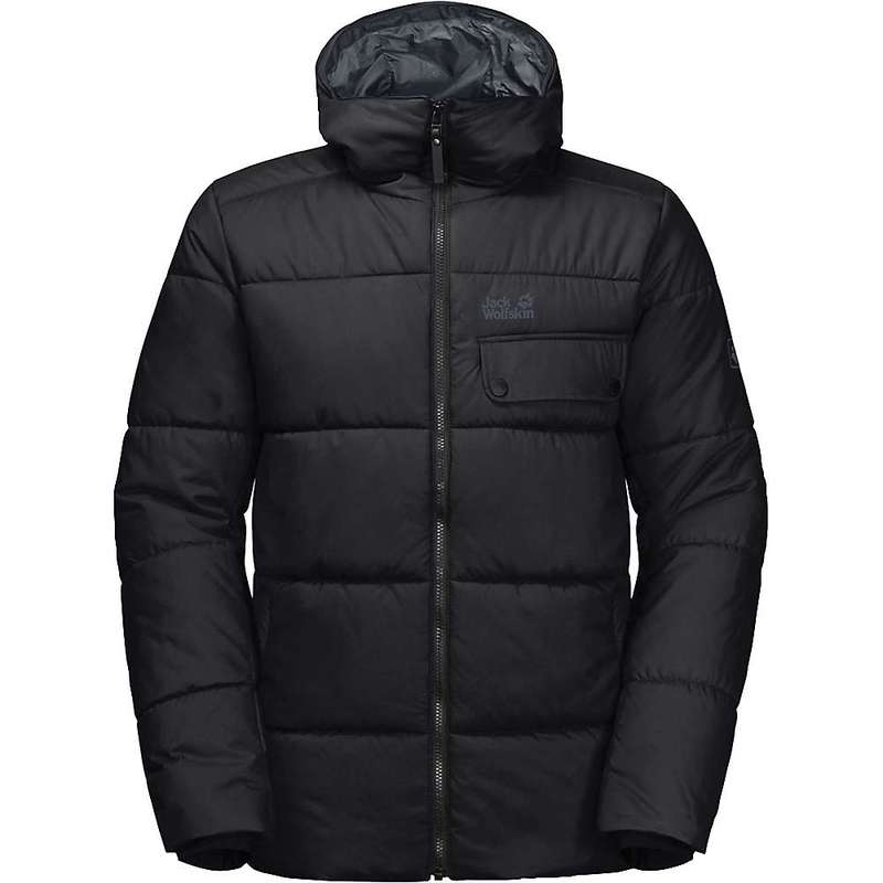 ジャックウルフスキン メンズ ジャケット・ブルゾン アウター Jack Wolfskin Men's Kyoto Jacket Black