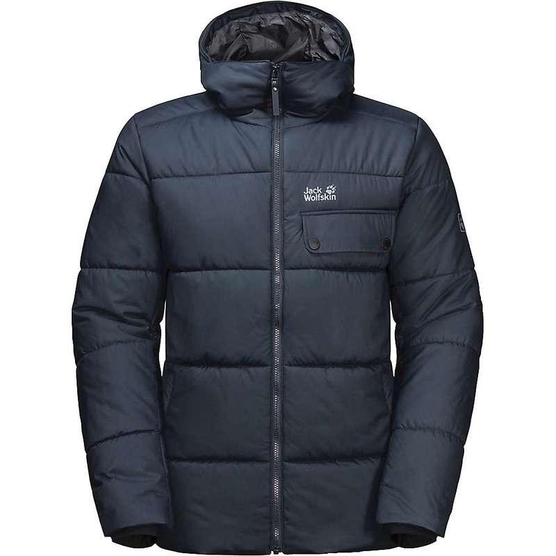 ジャックウルフスキン メンズ ジャケット・ブルゾン アウター Jack Wolfskin Men's Kyoto Jacket Night Blue