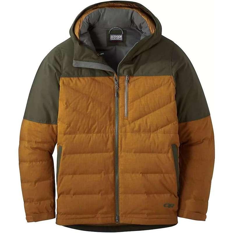 アウトドアリサーチ メンズ ジャケット・ブルゾン アウター Outdoor Research Men's Blacktail Down Jacket Saddle / Forest