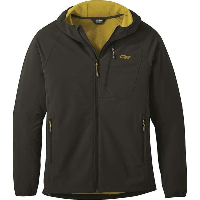 アウトドアリサーチ メンズ ジャケット・ブルゾン アウター Outdoor Research Men's Ferrosi Grid Hooded Jacket Forest