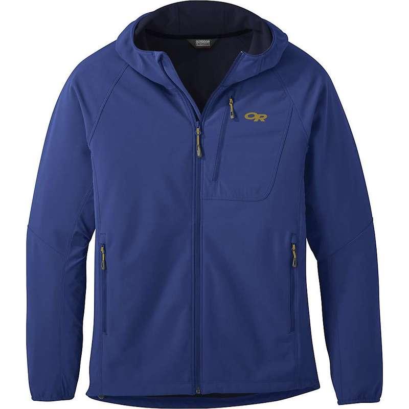 アウトドアリサーチ メンズ ジャケット・ブルゾン アウター Outdoor Research Men's Ferrosi Grid Hooded Jacket Sapphire