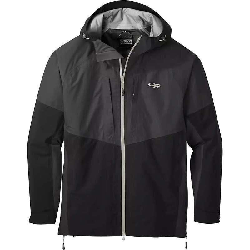 アウトドアリサーチ メンズ ジャケット・ブルゾン アウター Outdoor Research Men's Furio Jacket Storm / Black