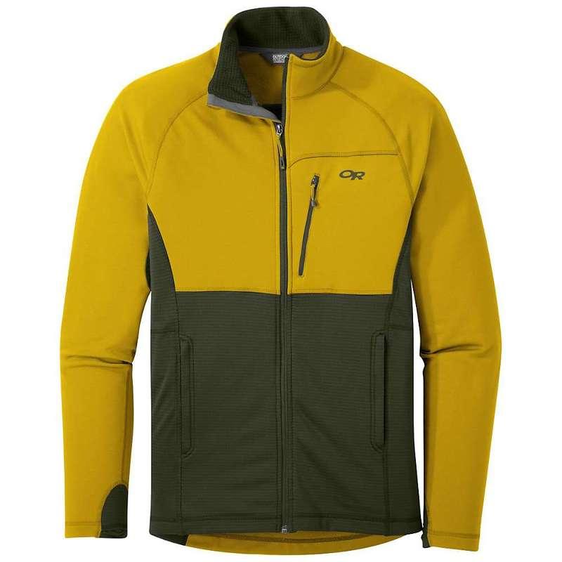 アウトドアリサーチ メンズ ジャケット・ブルゾン アウター Outdoor Research Men's Vigor Full Zip Jacket Turmeric / Forest