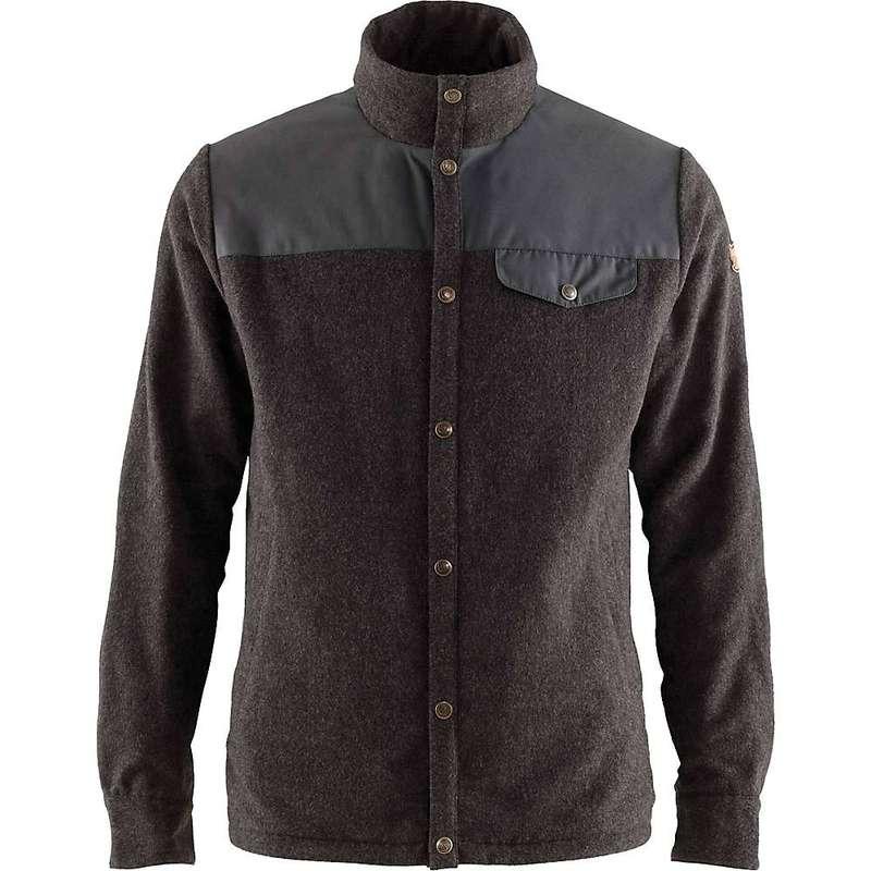 フェールラーベン メンズ ジャケット・ブルゾン アウター Fjallraven Men's Canada Wool Padded Jacket Stone Grey