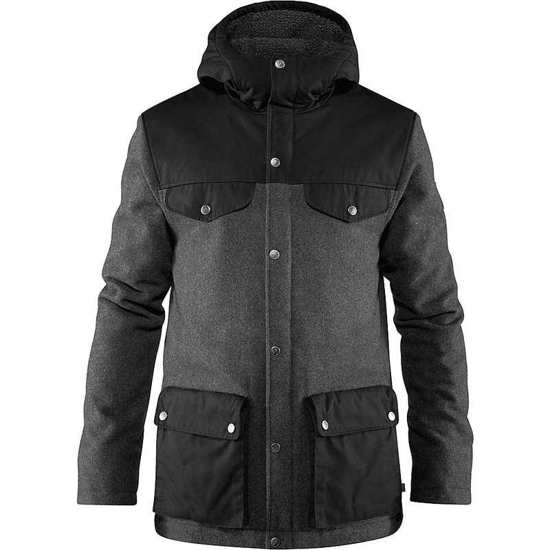フェールラーベン メンズ ジャケット・ブルゾン アウター Fjallraven Men's Greenland Re-Wool Jacket Grey