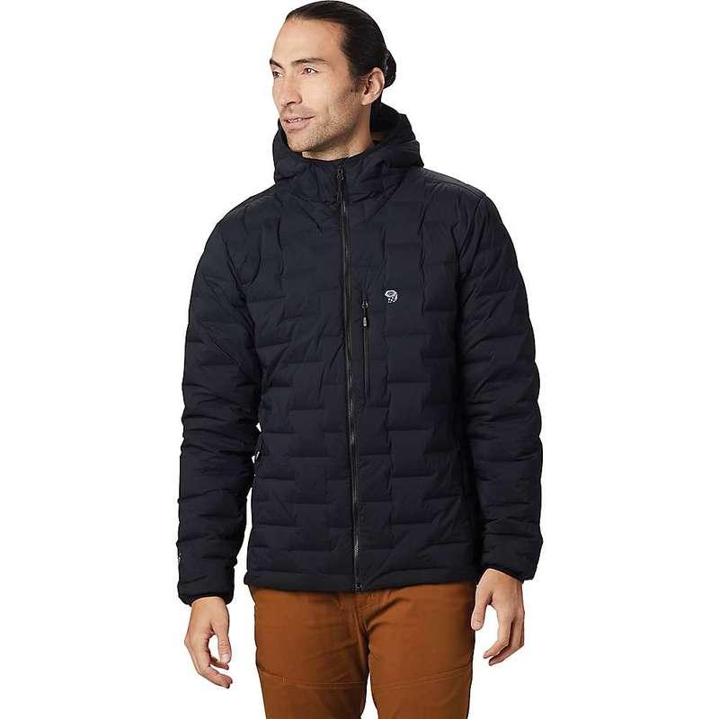 マウンテンハードウェア メンズ ジャケット・ブルゾン アウター Mountain Hardwear Men's Super/DS Hooded Jacket Black