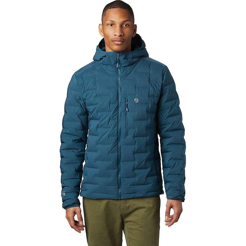 マウンテンハードウェア メンズ ジャケット・ブルゾン アウター Mountain Hardwear Men's Super/DS Hooded Jacket Icelandic