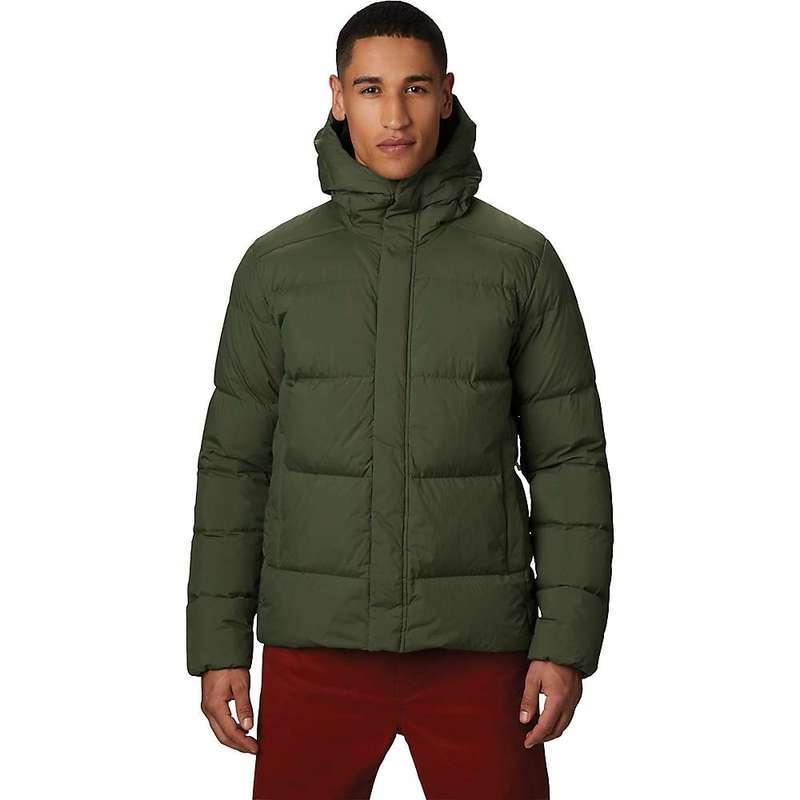 マウンテンハードウェア メンズ ジャケット・ブルゾン アウター Mountain Hardwear Men's Glacial Storm Jacket Dark Army