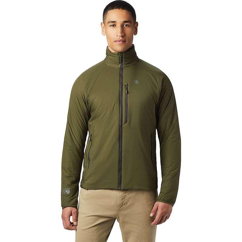 マウンテンハードウェア メンズ ジャケット・ブルゾン アウター Mountain Hardwear Men's Kor Strata Jacket Dark Army