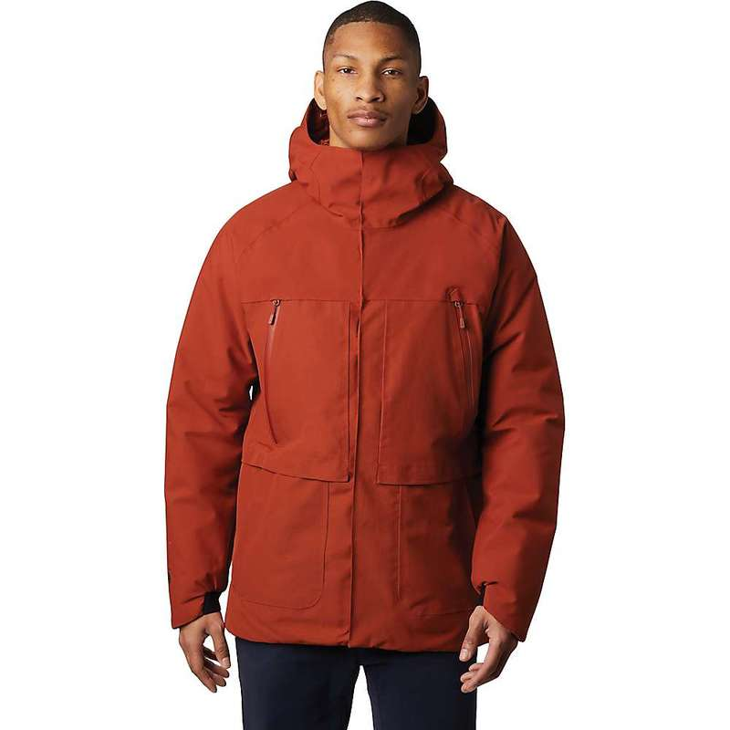 マウンテンハードウェア メンズ ジャケット・ブルゾン アウター Mountain Hardwear Men's Summit Shadow GTX Insulated Jacket Rusted