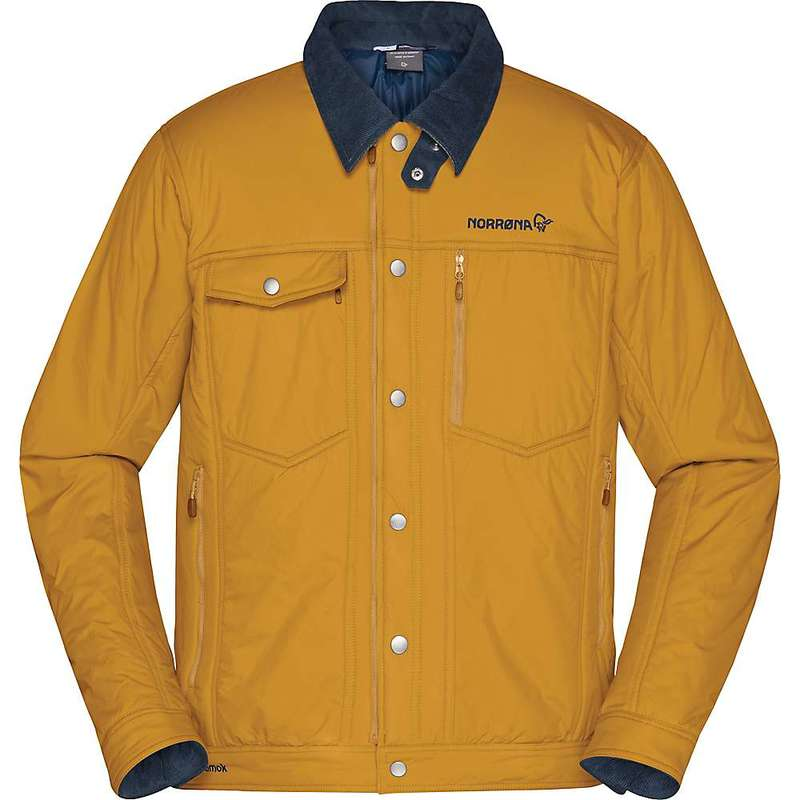 ノローナ メンズ ジャケット・ブルゾン アウター Norrona Men's Tamok Insulated Jacket Camelflage