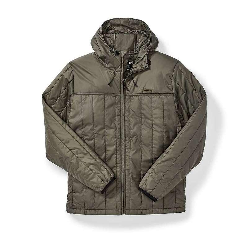 フィルソン メンズ ジャケット・ブルゾン アウター Filson Men's Ultralight Hooded Jacket Olive Grey