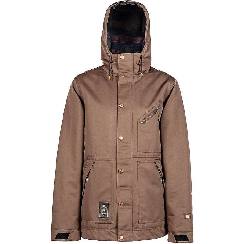 L1 メンズ ジャケット・ブルゾン アウター L1 Men's Wilcox Jacket Espresso