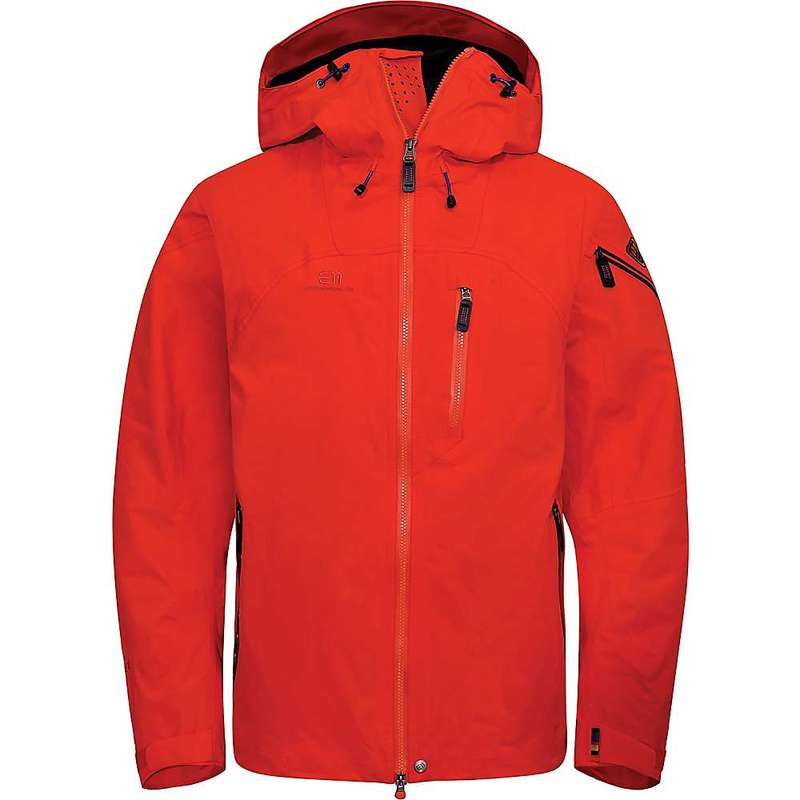 エレべネート メンズ ジャケット・ブルゾン アウター Elevenate Men's Creblet Jacket Red Glow
