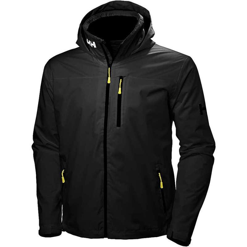 ヘリーハンセン メンズ ジャケット・ブルゾン アウター Helly Hansen Men's Crew Hooded Jacket BLACK