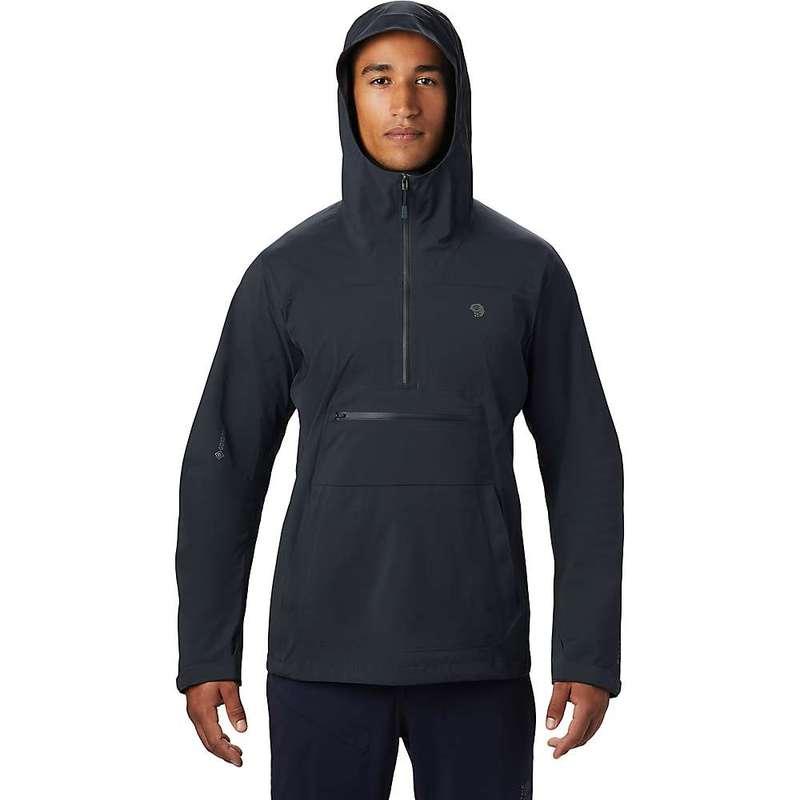 マウンテンハードウェア メンズ ジャケット・ブルゾン アウター Mountain Hardwear Men's Exposure/2 GTX Paclite Stretch Anorak Dark Storm