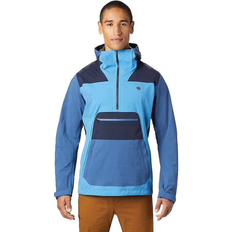 マウンテンハードウェア メンズ ジャケット・ブルゾン アウター Mountain Hardwear Men's Exposure/2 GTX Paclite Stretch Anorak Deep Lake