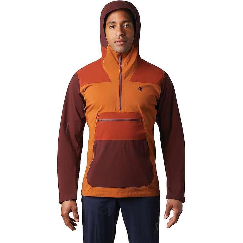 マウンテンハードウェア メンズ ジャケット・ブルゾン アウター Mountain Hardwear Men's Exposure/2 GTX Paclite Stretch Anorak Rust Earth