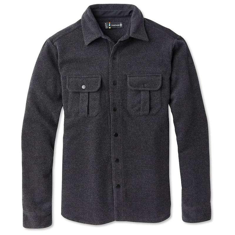 スマートウール メンズ ジャケット・ブルゾン アウター Smartwool Men's Anchor Line Shirt Jacket Charcoal Heather