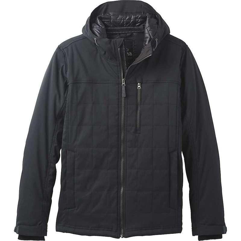 プラーナ メンズ ジャケット・ブルゾン アウター Prana Men's Zion Quilted Jacket Black