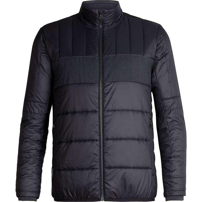 アイスブレーカー メンズ ジャケット・ブルゾン アウター Icebreaker Men's Stratus X Jacket Black / Jet Heather 002