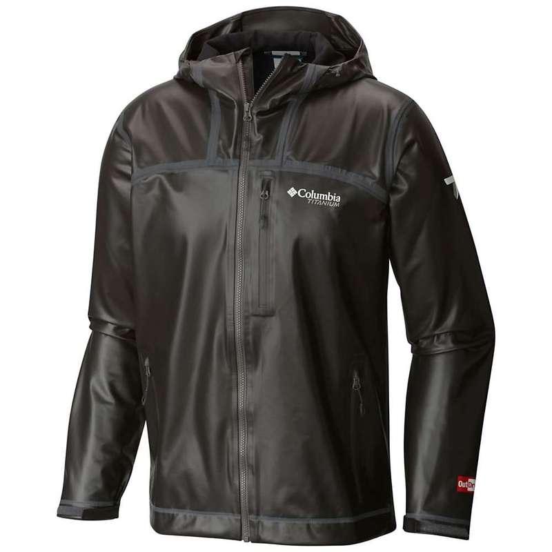 コロンビア メンズ ジャケット・ブルゾン アウター Columbia Titanium Men's OutDry Ex Stretch Hooded Shell Jacket Black