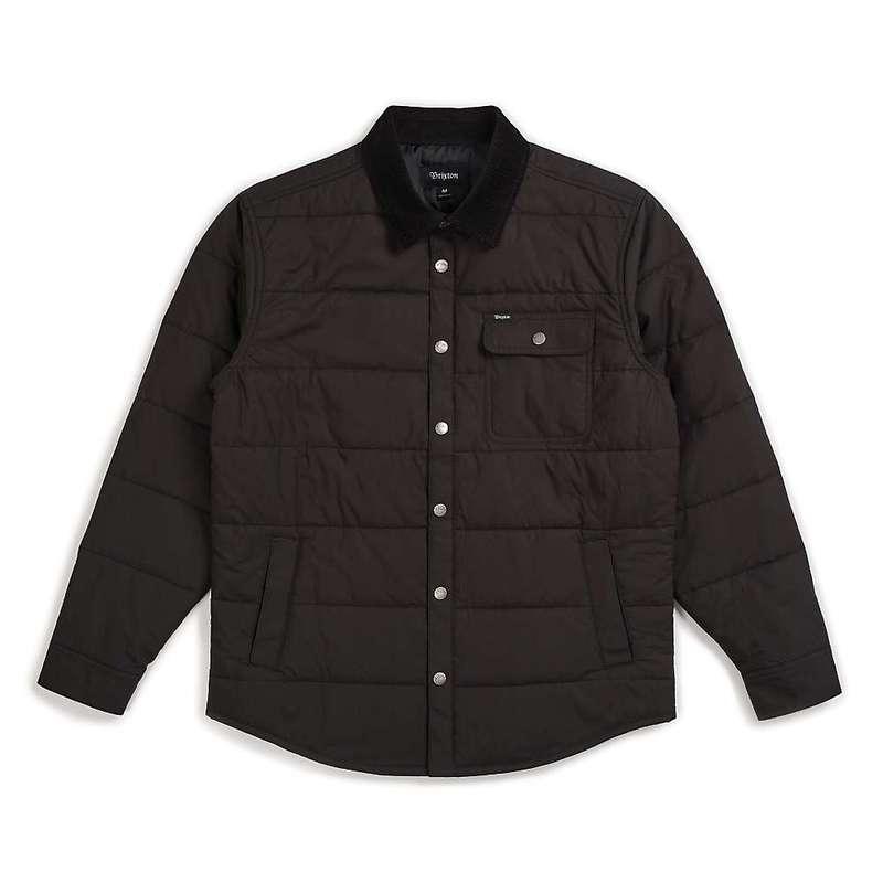 ブリクストン メンズ ジャケット・ブルゾン アウター Brixton Men's Cass Jacket Black/Black