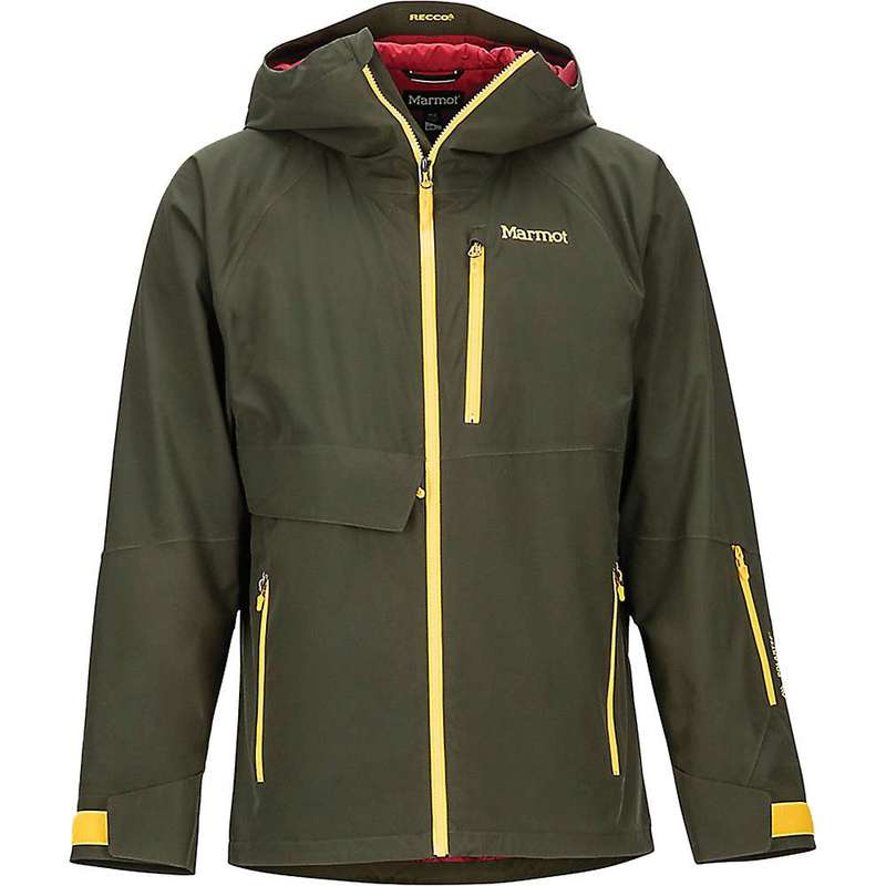Men's Castle アウター Rosin / Marmot Green ジャケット・ブルゾン Jacket Peak Leaf メンズ Golden マーモット