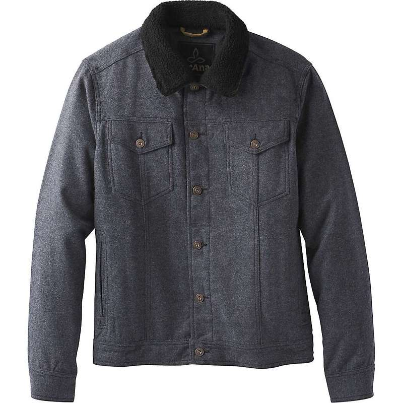 プラーナ メンズ ジャケット・ブルゾン アウター Prana Men's Pinnacle Jacket Charcoal