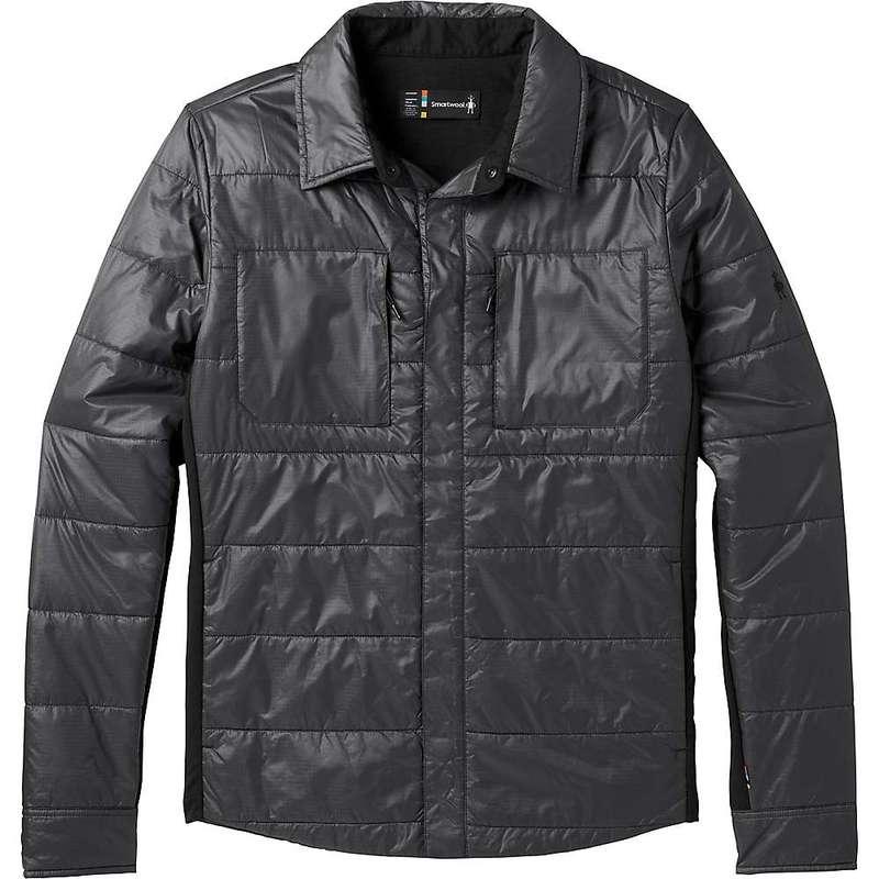 スマートウール メンズ ジャケット・ブルゾン アウター Smartwool Men's Smartloft 60 Shirt Jacket Graphite