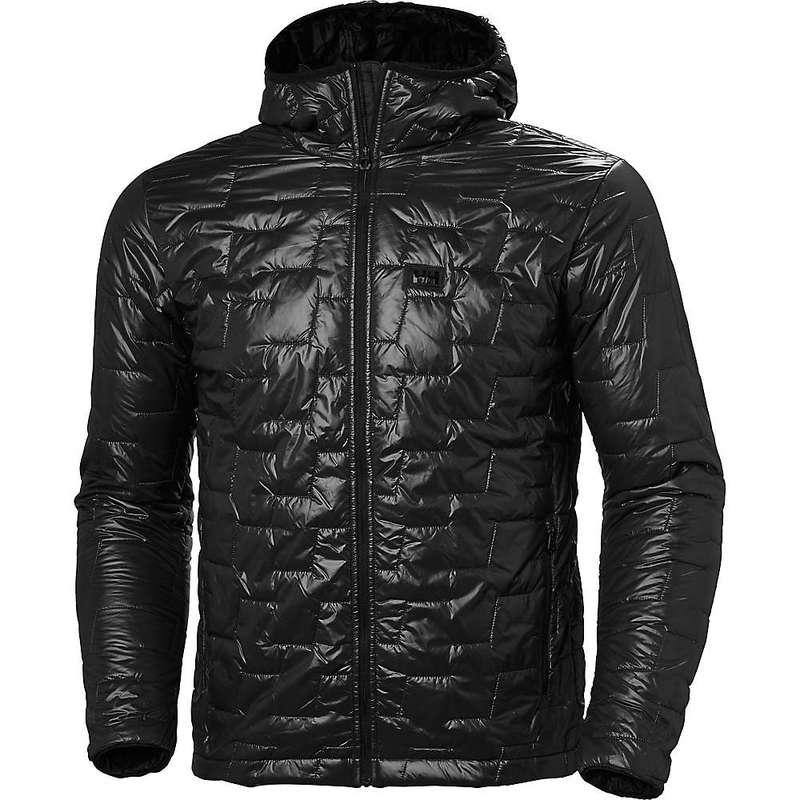ヘリーハンセン メンズ ジャケット・ブルゾン アウター Helly Hansen Men's Lifa Loft Hooded Insulator Jacket Black Matte