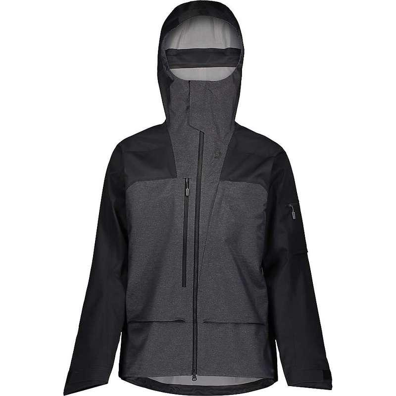 スコット メンズ ジャケット・ブルゾン アウター Scott USA Men's Vertic 3L Jacket Dark Grey Melange / Black