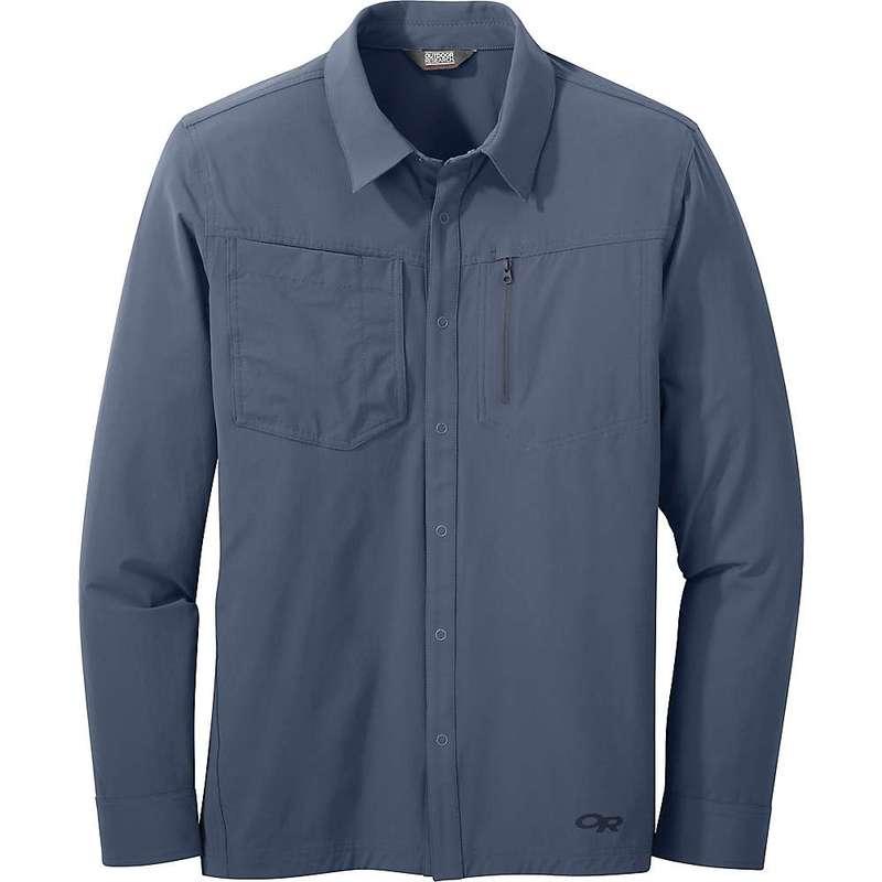アウトドアリサーチ メンズ ジャケット・ブルゾン アウター Outdoor Research Men's Ferrosi Shirt Jacket Steel Blue