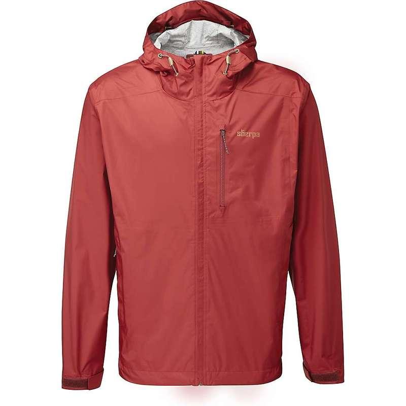 シャーパ メンズ ジャケット・ブルゾン アウター Sherpa Men's Kunde 2.5-Layer Jacket Potala Red