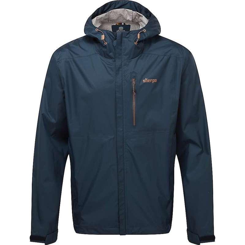 シャーパ メンズ ジャケット・ブルゾン アウター Sherpa Men's Kunde 2.5-Layer Jacket Rathee Blue