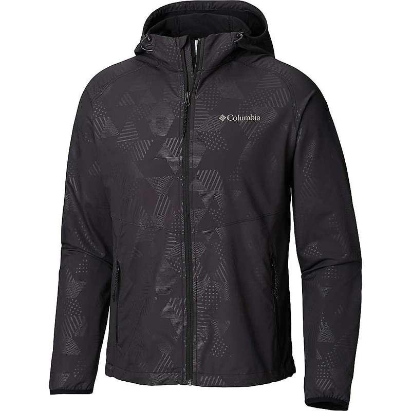 コロンビア メンズ ジャケット・ブルゾン アウター Columbia Men's Panther Creek Jacket Black Diamond Emboss