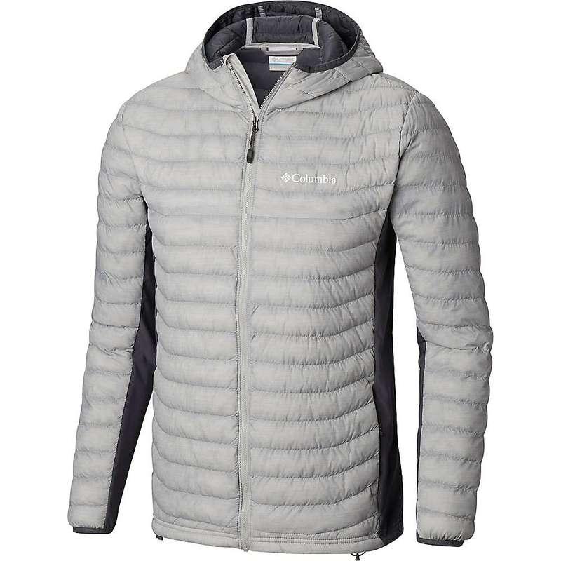 コロンビア メンズ ジャケット・ブルゾン アウター Columbia Men's Powder Pass Hooded Jacket Cool Grey Heather / Graphite