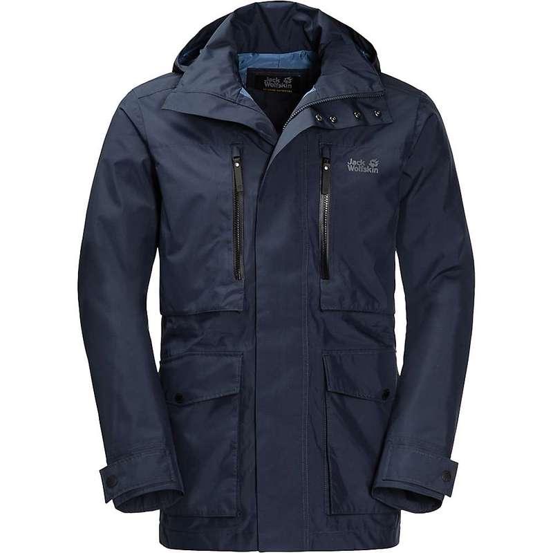 ジャックウルフスキン メンズ ジャケット・ブルゾン アウター Jack Wolfskin Men's Bridgeport Jacket Night Blue