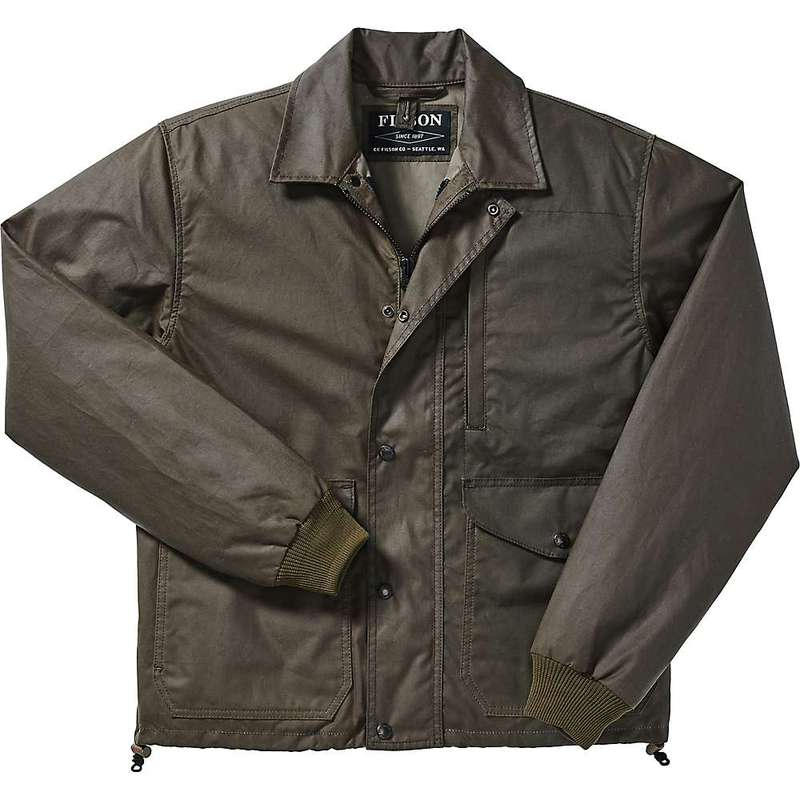 フィルソン メンズ ジャケット・ブルゾン アウター Filson Men's Aberdeen Work Jacket Otter Green