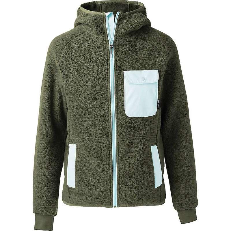 コートパクシー メンズ ジャケット・ブルゾン アウター Cotopaxi Men's Cubre Hooded Full Zip Fleece Jacket Cargo/Aqua