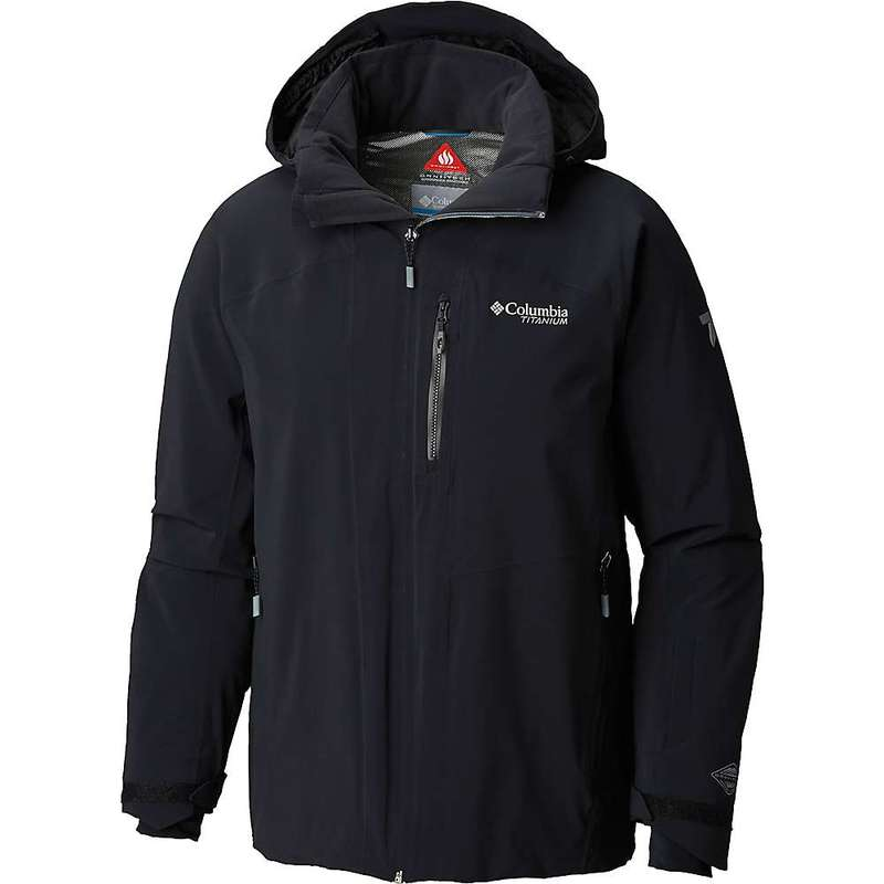 コロンビア メンズ ジャケット・ブルゾン アウター Columbia Men's Snow Rival Titanium Jacket Black